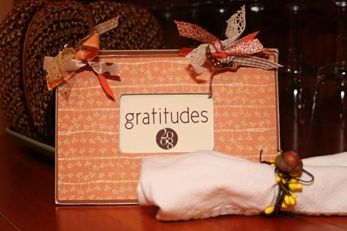 Gratitudes