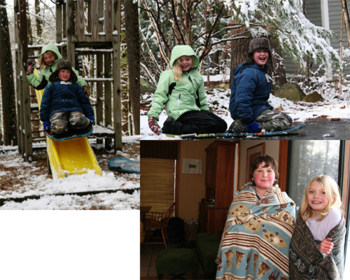 FirstSnowCollage