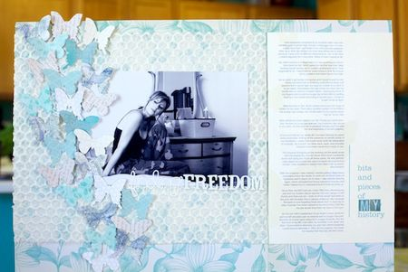Noell Hyman Scrapbook Page